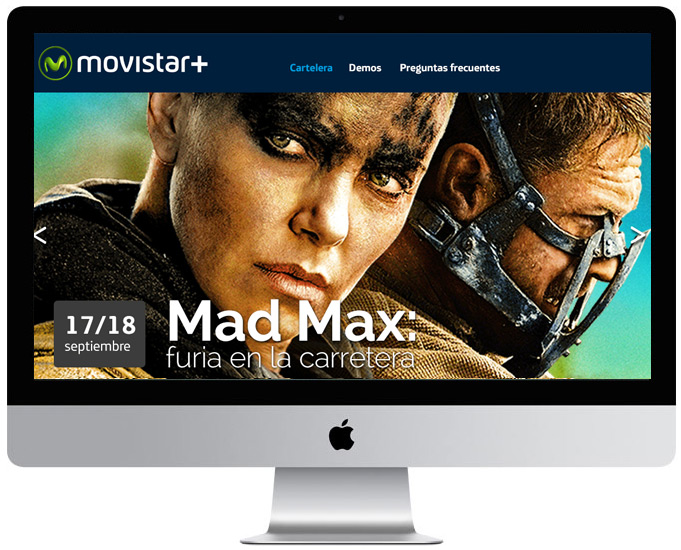 Diseño UX/UI - Home Movistar Freelance